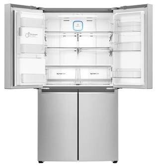 FRI. LG GML936NSHV 179x91 4P A  INOX DISPENSADOR
