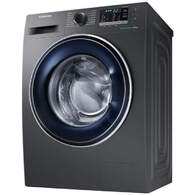 Lavadora Samsung WW80J5555FX - EcoBubble, A+++ -10%, 8kg, 1400 rpm, Ecobubble, Smart Check, Inox