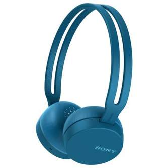 AURICULARES SONY WHCH400L BLUETOOTH BLUE