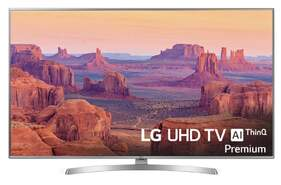 "Televisor LG 65"" 65UK7550PLA - 4K UHD Nano Cell, Smart TV ThinQ® IA, 3xHDR, DTS Virtual X 360"