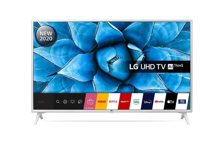 TV 4K LG 49UN73906LE - UHD 4K, IPS, Smart TV AI, HDR10 Pro, HLG, QuadCore, HGiG, ALLM