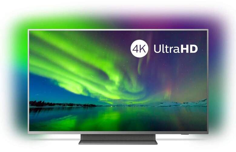 "TV 4K Philips 50"" 50PUS7504/12 - UHD, Smart TV Android, P5, HDR10+, Ambilight, Dolby Vision/Atmos"