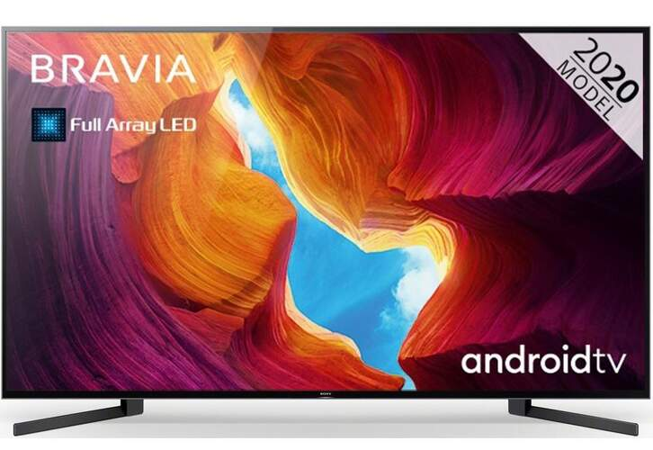"""TV Sony 85"""" KD85XH9505 - UHD 4K, Smart TV Android, Full Array LD, X1 Ultimate, Dolby Vision/Atmos"""