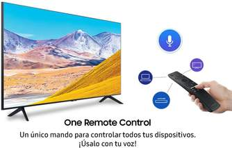 TV SAMSUNG 55%%%quot; UE55TU8005 UHD STV VOICE ONEREMOTE