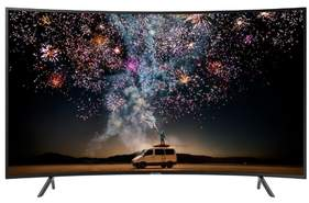 "Televisor Curvo Samsung 65"" UE65RU7305 - UHD 4K, 1500 PQI, HDR10+, Smart TV, Dolby Digital Plus"