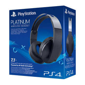 AURICULAR SONY PS4 PLATINUM WIRELESS  HEADSET