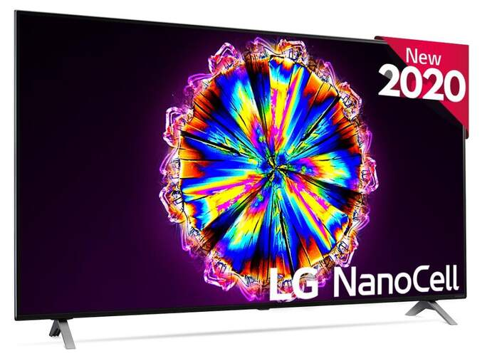 "TV LG 55"" 55NANO906NA - NanoCell UHD 4K, A7, 100% HDR, Dolby Vision/Atmos, Full Array, Smart TV"