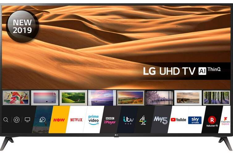 "TV LG 70"" 70UM7100PLA - UHD 4K, Smart TV ThinQ AI, 4K Active HDR (HDR10 Pro, HLG), Ultra Surround"
