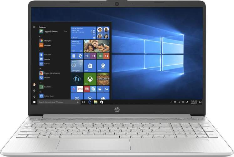 "Portátil HP Laptop 15s-fq1141ns - 15.6"", i3-1005G1 3.4GHz, 8GB + SSD 512GB, Intel UHD, W10"