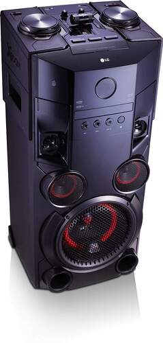 Cadena LG XBoom OM5560 - 500W, Auto DJ, BT 4.0, DJ Sharing, Karaoke Star, Multi Jukebox, Sound Sync