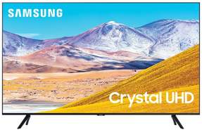 "TV Samsung 43"" 43TU8005 - Crystal UHD 4K, Smart TV Tizen, HDR10+, 2100PQI, UHD Dimming"