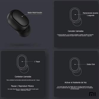 AURICULAR XIAOMI MI TRUE WIRELESS EARBUDS BASIC