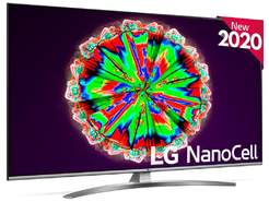 "TV LG 55"" 55NANO816NA - NanoCell UHD 4K, Smart TV ThinQ IA, HDR10 Pro, Local Dimming, QuadCore 4K"