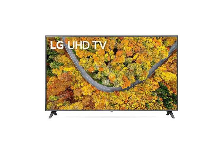TV 4K LG 75UP75006LF - SmartTV webOS 6.0, QuadCore, HDR10 Pro, HLG, Gaming GiG/ALLM, 20W