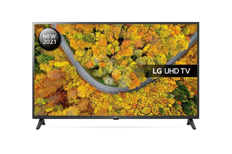 TV 4K LG 43UP75006LF - SmartTV webOS 6.0, QuadCore, HDR10 Pro, HLG, Gaming GiG/ALLM, 20W