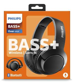 AURICULARES PHILIPS SHB3175BK/00 BLACK BASS