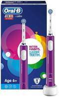 Cepillo dental ORAL-B D16 Junior morado - Temporizador, 8800 Oscilaciones / 20000 Pulsaciones