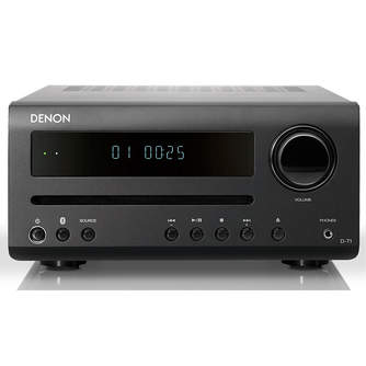 CADENA DENON DT1 BLACK CD BLUETOOTH