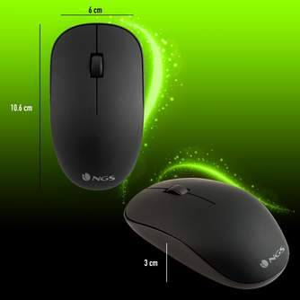 RATON NGS WIRELESS MOUSE EASY ALPHA