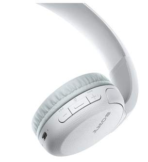 AURICULARES SONY WHCH510W BLUETOOTH WHITE