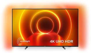 """TV Philips 50"""" 50PUS7805/12 - UHD 4K, Smart TV Saphi, P5, HDR10+, Ambilight, Dolby Vision/Atmos"""