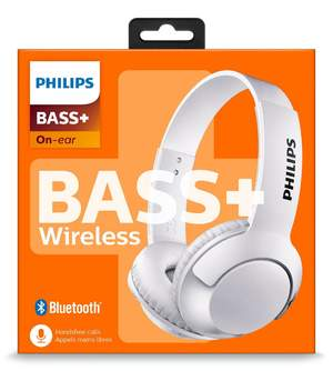 AURICULARES PHILIPS SHB3075WT/00 BLANCO BASS