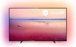 "TV 4K Philips 43"" 43PUS6704/12 - UHD, Smart TV Saphi, Ambilight, HDR10+, Dolby Vision/Atmos"