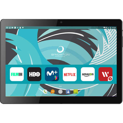 "Tablet Brigmton BTPC 1022 - 10"" + Funda, Negra, 3G, Wifi, Bluetooth"