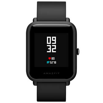 SMARTWATCH AMAZFIT BIP A1608 BLUETOOTH ONYX BLACK