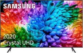 "TV Samsung 55"" 55TU7105 - Crystal UHD 4K, Smart TV, PQI 2000, HDR10+, 4K Processor, UHD Dimming"