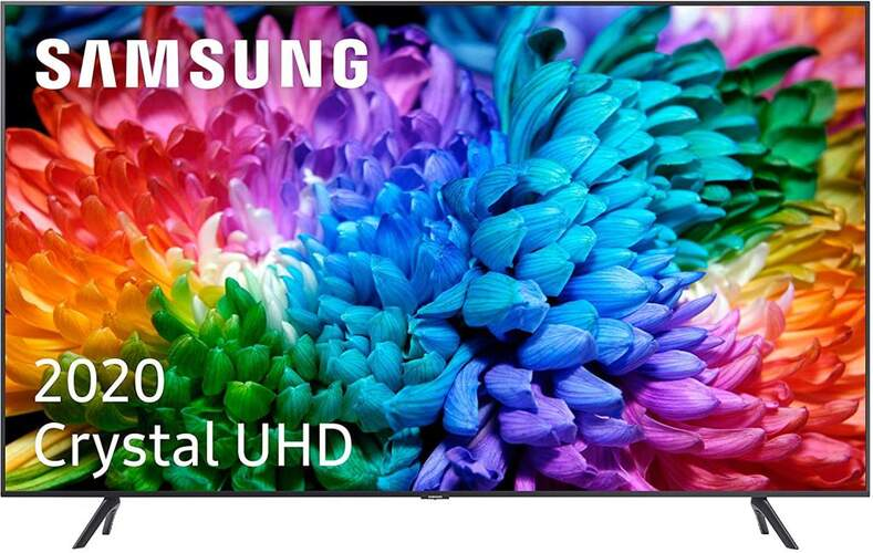 "TV Samsung 50"" 50TU7105 - Crystal UHD 4K, Smart TV, PQI 2000, HDR10+, 4K Processor, UHD Dimming"