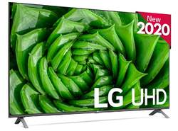 "TV LG 55"" 55UN80006LA - UHD 4K, HDR10 Pro, Smart TV ThinQ AI, QuadCore 4K, Ultra Surround, HGiG"