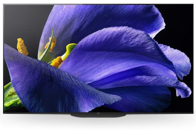 "TV OLED Sony 65"" KD65AG9 - 4K X-Reality PRO, HDR Processor X1 Ultimate, Android TV, Dolby Vision"