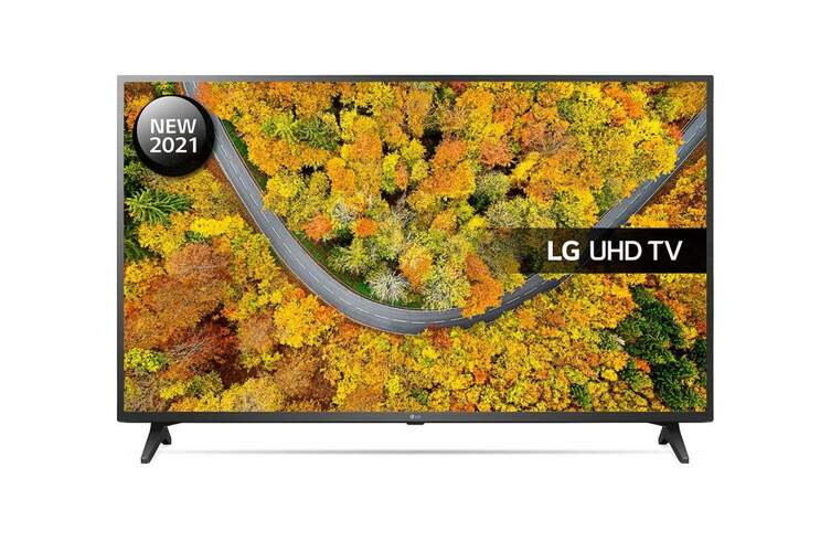 TV 4K LG 65UP75006LF - SmartTV webOS 6.0, QuadCore, HDR10 Pro, HLG, Gaming GiG/ALLM, 20W