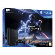 Etiqueta: Play Station 4 PS4 1TB + Mando DualShock 4 + Star Wars Battlefront II