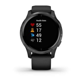 SMARTWATCH GARMIN VENU BLACK/SLATE 010-02173-12