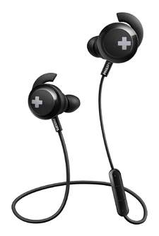 AURICULARES PHILIPS SHB4305BK/00 NEGRO BASS