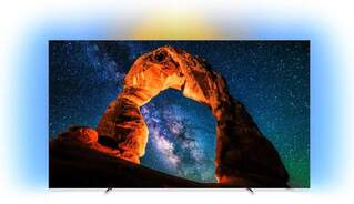 "Televisor OLED Philips 65"" 65OLED803 - UHD 4K, Android TV, P5, HDR Perfect, DTS HD Premium,Ambilight"