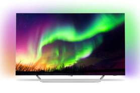 "Televisor OLED Philips 65"" 65OLED873 - UHD 4K 10 Bits, Android TV, Ambilight, HDR Perfect"