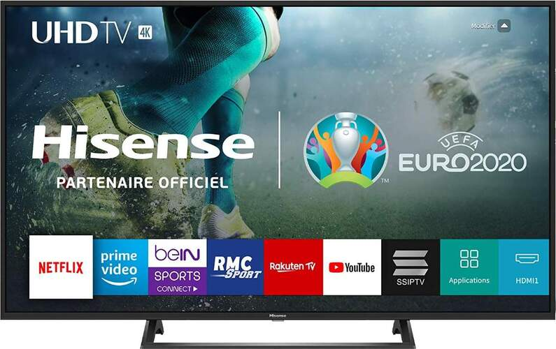 "TV 4K Hisense 65"" 65B7300 - UHD, Smart TV, HDR10, HLG, Motion Picture Enhancer, DTS, USB Media"