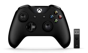 MANDO XBOX ONE WIRELESS NEGRO   ADAP. PC