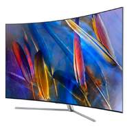 "Televisión Samsung 65"" QE65Q7C - Curvo, Quantum Dot QLED, Ultra HD, HDR1500, 3200 Hz, Smart TV, Wifi"