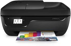 Impresora Multifunción HP Officejet 3833 - Color, 8.5/6ppm, 4800x1200dpi, WiFi, Scanner, 512MB