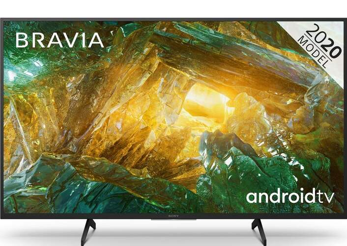 """TV Sony 49"""" 49XH8096 - UHD 4K, Smart Android TV, HDR Processor X1, Dolby Vision/Atmos, MotionFlow XR"""