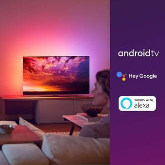 TV PHILIPS 55%%%quot; 55OLED854 UHD OLED ANDROID AMBIL P5