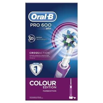 DENTAL ORAL-B PRO600 MORADO CROSS ACTION
