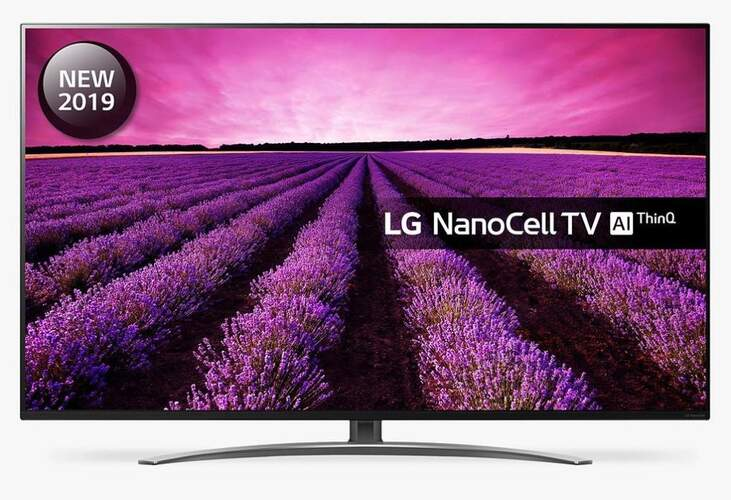 "TV LG 49"" 49SM8600PLA - 4K UHD, NanoCell, Alpha 7, Smart TV Think AI, 100% HDR, Dolby Atmos"