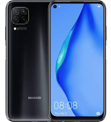 "Huawei P40 Lite 128GB Negro - 6.4"" FHD+ 398ppp, OctaCore 2.27GHz, 6GB, 48·8·2·2/16MPx, 4200mAh"