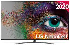 TV LG NanoCell 75NANO916NA - UHD 4K, Smart TV IA, A7 Gen3, Full Array Dimming, Dolby Vision/Atmos