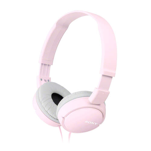 Auriculares Sony MDRZX110P - Cable 1.2m, 12Hz-22kHz, Diafragma 30mm, 24 oh (1 kHz), 98 dB/mW